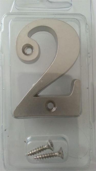 Metal Kapı Numarası Saten